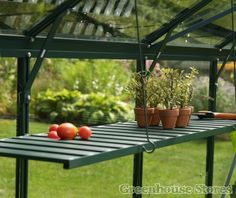 Vitavia GreenFolding Shelf http://www.greenhousestores.co.uk/Vitavia-Green-Folding-Shelf.htm