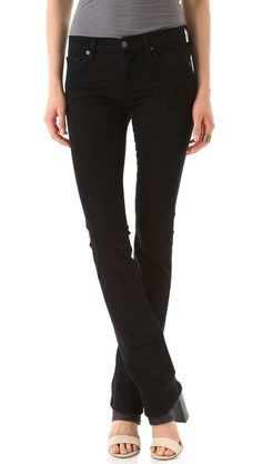 Black jeans for fall/winter! Citizens of Humanity Elson Straight Leg Jeans