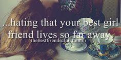 best friends, best girl friend, friendship, long distance