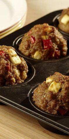 Hack-Käse-Bällchen aus dem Ofen - einfach mal nicht braten sondern ...