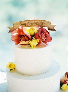 beautiful cake topper