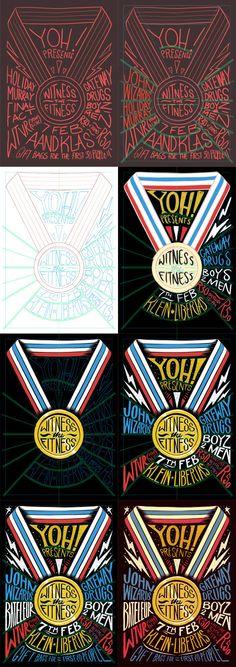 Yoh!: Witness the Fitness by Ian Jepson, via Behance