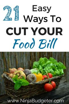 Want to learn how to save some money on your grocery bill? These easy tips will help you cut your food bill down big time. Click through to read more!