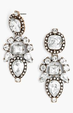 BaubleBar 'Aztec' Crystal Drop Earrings | Nordstrom