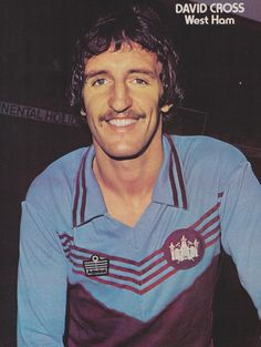 David Cross West Ham United 1977