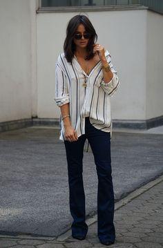 Shooting, Seventies, Jeans, Flared Jeans, Schlaghose, Summer, Blogger, Lena Lademann, Sunglasses, 70s  Mehr gibts hier: http://www.blogger-bazaar.com/2016/06/02/she-the-70s/
