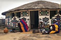 Ndebele women, Johannesburg Explore the World with Travel Nerd Nici, one Country at a Time. http://TravelNerdNici.com