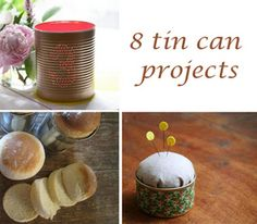 Gallery: upcycyling tin can craft