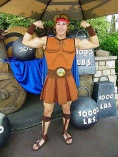 Hercules | 20 RunDisney Costume Ideas | www.RunSelfieRepeat.com