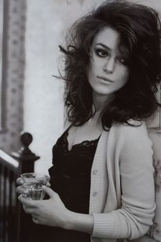 Keira Knightley - I wish mine looked like this after teasing/backcombing it