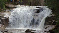 Mumlavský vodopád - dost vody