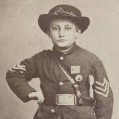Kids In Combat: 26 Photos Of The Civil War's Child Soldiers