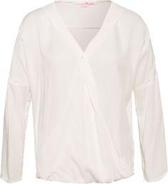 Bluse in Wickeloptik von TOM TAILOR DENIM bei ABOUT YOU Viskose 39,90€