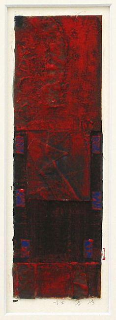 Archipelago-1995(6-4)  The original portfolio by Collage works used Okinawan antique fabrics  HAYASHI Takahiko 1995  furnished data by Gallely SINCERITE