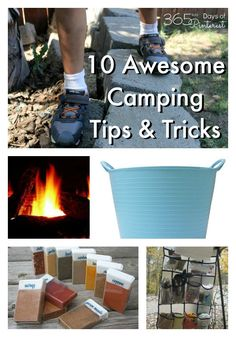 Camping hacks, recipes, game ideas and kitchen tips to make your next camping trip the best one ever!   AD