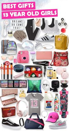 "Best Gifts for 13 Year Old Girls in 2018 [HUGE List of Ideas] We know it can be tough coming up with creative gift ideas for 13 year old girls. With these gifts, you'll score major cool points."", ""pinner"": {""username"": ""thetoybuzz"", ""first_name"": ""Toy Buzz"", ""domain_url"": ""toybuzz.org"",.."