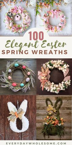 Easter Ideas, Easter Projects, Easter Crafts, Easter Gift, Felt Crafts, Diy Easter Decorations, Easter Wreaths Diy, Christmas Wreaths, Front Door Decor