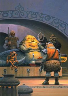 Star Wars Forever — talesfromweirdland: Ralph McQuarrie cover art for. Star Wars Characters Pictures, Star Wars Pictures, Ralph Mcquarrie, Star Wars Poster, Star Wars Art, Star Trek, Mundo Dos Games, Jabba The Hutt, Star Wars Prints