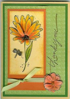Beaded Blooms by Happy Heart - Cards and Paper Crafts at Splitcoaststampers