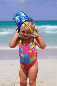 Beach Baby --  The hat. It's all the rage on the beach!                                 JM