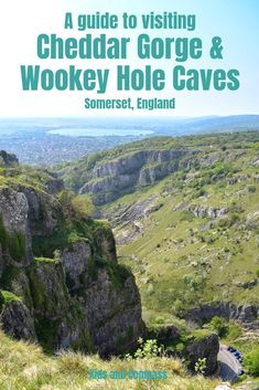 Which should you visit, Cheddar Gorge or Wookey Hole Caves? Both attractions have fantastic caves and plenty more things to see. We visited both and compare them in this article to help you decide which is best for your interests. Travel Couple, Family Travel, Cheddar Gorge, Ireland With Kids, International Travel Tips, Travel Drawing, Family Vacation Destinations, Ireland Travel, Travel With Kids