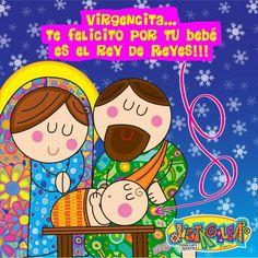 @Distroller Virgencita y familia.