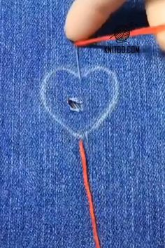 Outstanding 20 Sewing tutorials tips are offered on our web pages. Embroidery Hearts, Hand Embroidery Videos, Hand Embroidery Stitches, Embroidery Techniques, Sewing Techniques, Cross Stitch Embroidery, Embroidery Patterns, Flower Embroidery, Sewing Hacks