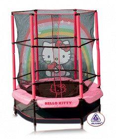 Cama Elástica Hello Kitty