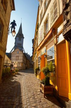 Honfleur, France.  One of my favorite places ever. So cool.