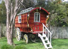 Modern Gypsy Caravans | the japing ape: April 2006