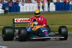 1991 British GP - Nigel Mansell & Ayrton Senna [1024x683] - Imgur