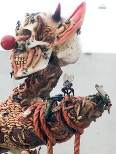 Chapman Brothers - another lovely sculpture Jake And Dinos Chapman, Anatomy Art, Gcse Art, Art For Art Sake, Skull And Bones, Surreal Art, Macabre, Artist At Work, Pottery Art