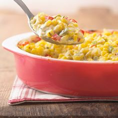 dinner, corn recipes, side dishes, cream corn, midwest living