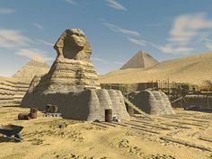 The Great Pyramids and Sphinx in Egypt