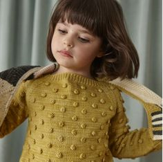 MISHA & PUFF POPCORN SWEATER / WINTER WHEAT