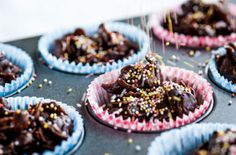 Dominic Chapman's speckled chocolate cornflakes is bound to be a winner with the kids. | Tesco