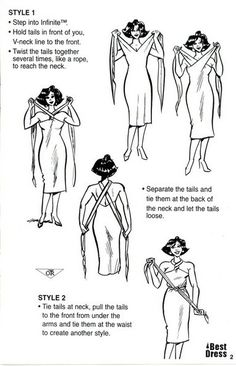 Infinity dress how to