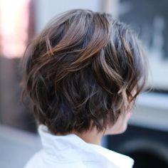 Short Messy Brown Balayage Hairstyle