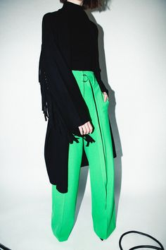 HIGH WAIST WIDE LEG PANT     Use promo code CYBERMONDAY2018 for 60% off! TODAY ONLY #RobertRodriguez #cybermonday Fringe Coats, Fall 2018, Wide Leg Pants, High Waist, Harem Pants, Fall Winter, Runway, Legs, Casual
