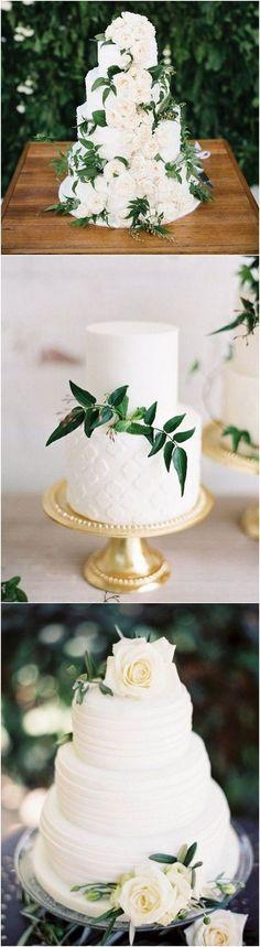 trending white and green elegant wedding cakes #weddingcakes #simplewedding #weddingcolors #weddingideas #weddingcakeselegant