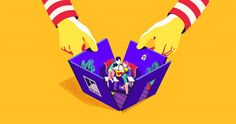 Heartbreaking Illustrations for Ronald McDonald's House, Canada