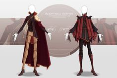[CLOSED-Auction] Adoptable outfit by Eggperon on DeviantArt Anime Outfits, Cool Outfits, Casual Outfits, Dress Drawing, Drawing Clothes, Poses References, Anime Dress, Fashion Art, Fashion Design