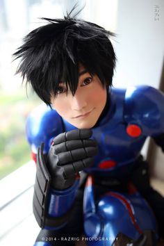 Wow! Hiro. Big Hero 6. I love this cosplayer.