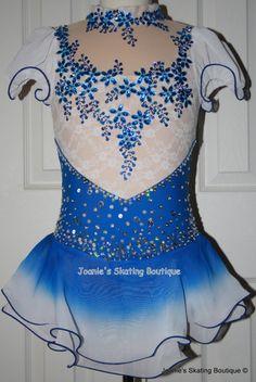 Joanie's Figure Skating Boutique of Newfoundland, Canada-Figure Skating Dresses, Custom Skating Dress, Skating Skirts, Skating Apparel. Baton. Dance. Leotards http://www.joanies-skatingboutique.com