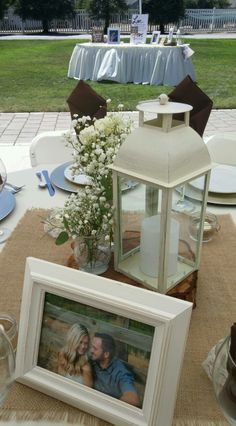BW Events Flowers Ivory Lantern Rentals by BW Events