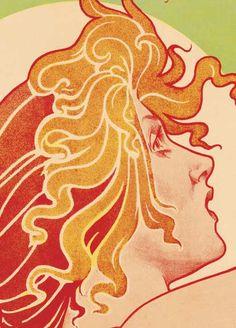 Absinthe Robette Classic Livemont 1896 Art Poster 17x24 | eBay
