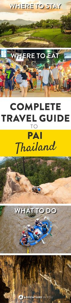 Pai Thailand |Pai is one of my favorite places in Thailand and is a place I keep going back to. If you want to know more about this magical place, here is a complete traveling guide for Pai.