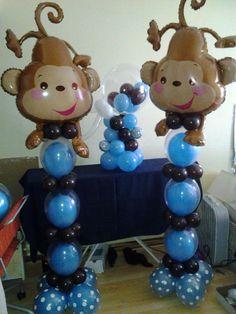 Balloons Jungle Amp Safari On Pinterest Jungle Theme