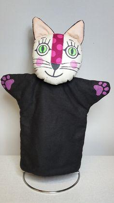 kočička - maňásek