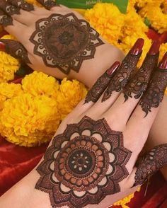 Simple Mehendi Designs for Any Special Occasion - K4 Fashion
